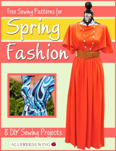 Free Sewing Patterns for Spring Fashion:  8 DIY Sewing Projects Easy Free Sewing Patterns