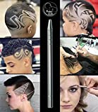 Hair Styling Tools Hair Razor Stick For Hair Design/Hair Tattoo/Eyebrow/Beard with 10 Blades and 1 Tweezers For Womens,Mens and Children by BabyKim