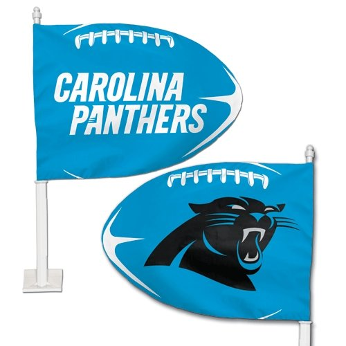 NFL Carolina Panthers Car Flag Wincraft 20218061