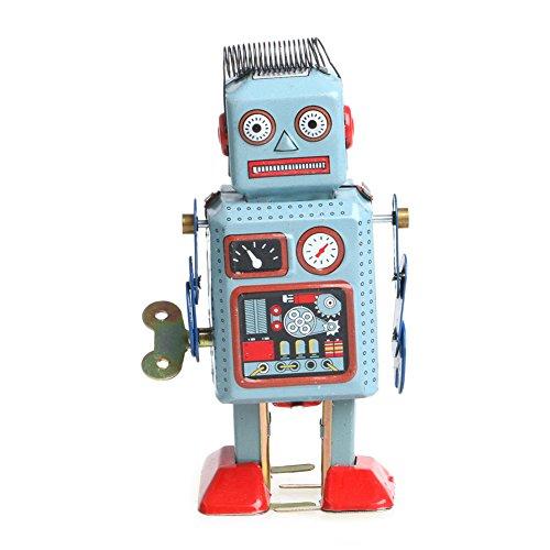 vintage tin robot - 6