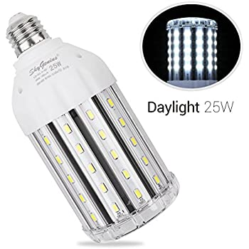 30w daylight led corn light bulb for indoor outdoor large area 25w daylight led corn light bulb for indoor outdoor large area e26 2500lm 6500k cool aloadofball Gallery