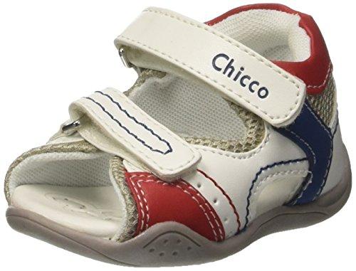 Chicco Gim, Sandalias para Bebés Blanco (Bianco)