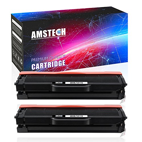 Samsung Laser Printer Ink (2Pack Amstech Compatible for Samsung MLT D111S MLT-D111S MLTD111S Toner Cartridge Replacement for Samsung Xpress M2020W M2020 Samsung Xpress M2070 M2070W M2070F M2070FW Toner Laser Printer)