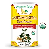 Organic Ashwagandha Root Powder ★ USDA Certified Organic ★ 100% Pure and Natural Super Food Supplement. Non GMO, Gluten FREE. For Sale