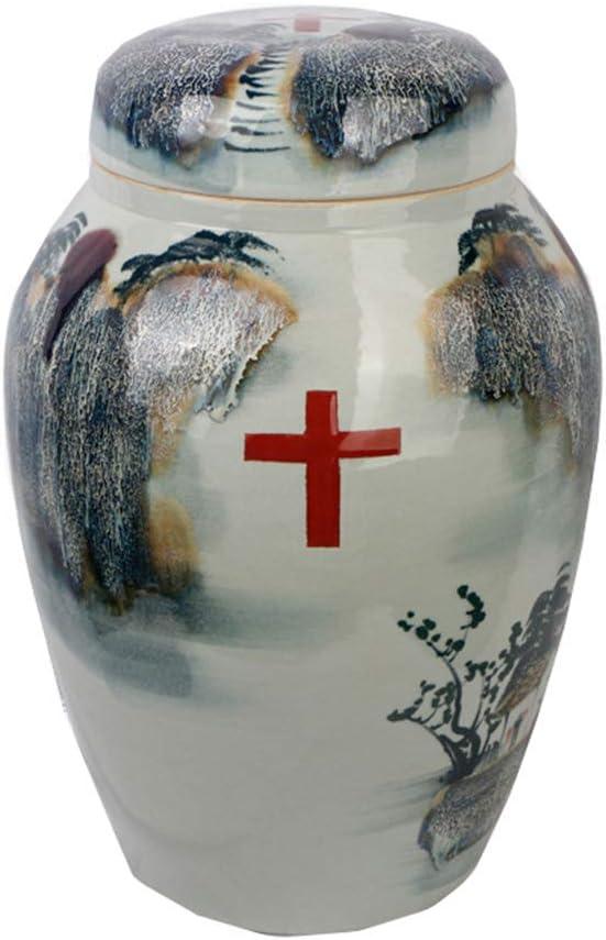 記念館ペットUr灰焼ner陶器手作りカラー絵画ffin犬猫記憶火葬Ur