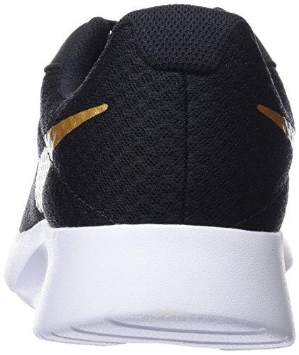 004 Nike Chaussures Noires Femmes Mtallis Tanjun Gymnastique noir Or Pour De wqR76avw