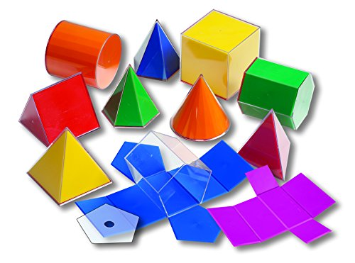 Learning Advantage Folding 3D GeoFigures - Geometric Shapes