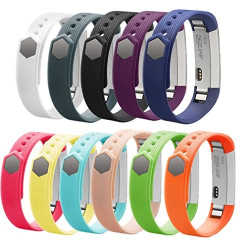 Fitbit Alta Bands,AK Fitbit Alta HR 2017/ Fitbit Alta Replacement Bands for Fitbit Alta with Metal Clasp