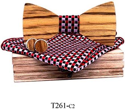 KQYAN-cravates et noeud papillon Pajarita de Madera Cebra Corbata ...