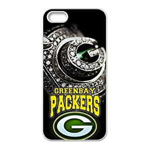 DAZHAHUI Greenbay Packers Fashion Comstom Plastic case cover For Iphone 5s