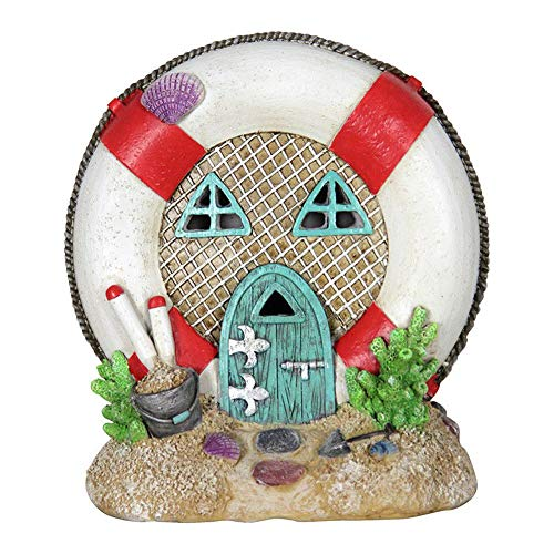 Miniature Dollhouse FAIRY GARDEN - Solar Lifesaver House - Accessories by FOTOOLS (Image #3)