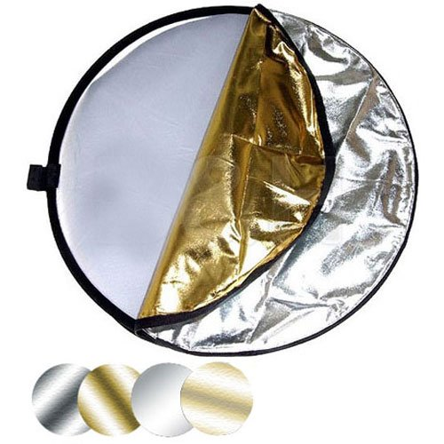 Impact 42'' 5-in-1 Reflector with Lightstand and Holder Kit