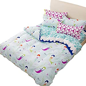 51nKy-iY6BL._SS300_ Mermaid Bedding Sets and Mermaid Comforter Sets