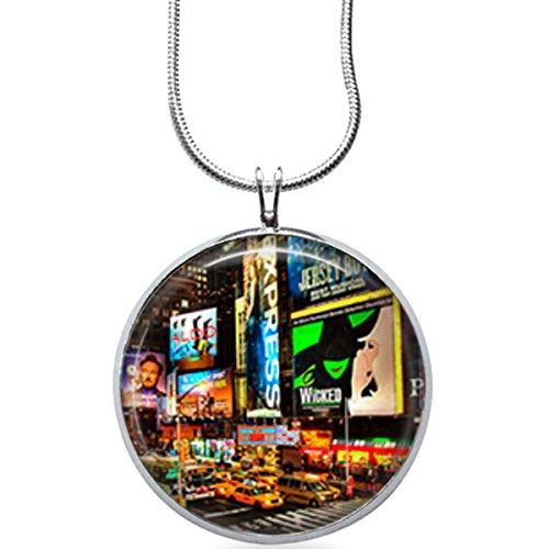 Broadway - NYC Musicals Jewelry - Music Pendant, Theater Jewelry, - Shop Nyc Broadway Fashion