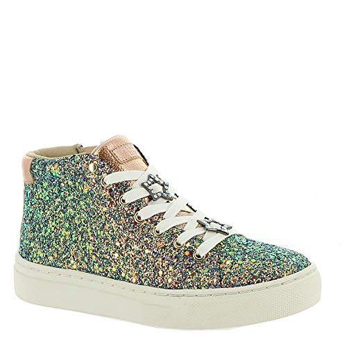 Night Life Girls' Toddler-Youth Oxford 3.5 M US Big Kid Gold-Glitter ()