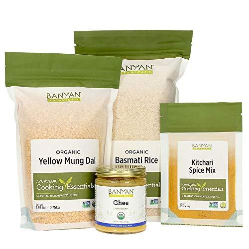 Banyan Botanicals Kitchari Kit - Basic supplies to make kitchari (Best Way To Treat Gastritis)