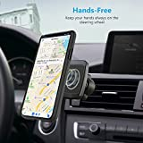 WizGear Magnetic Mount, Universal Twist-Lock Air Vent Magnetic Car Mount Holder, for Cell Phones with Fast Swift-snap Technology