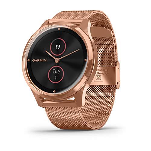 Garmin Vivomove Luxe Smartwatch Hybrid Analógico Digital ...