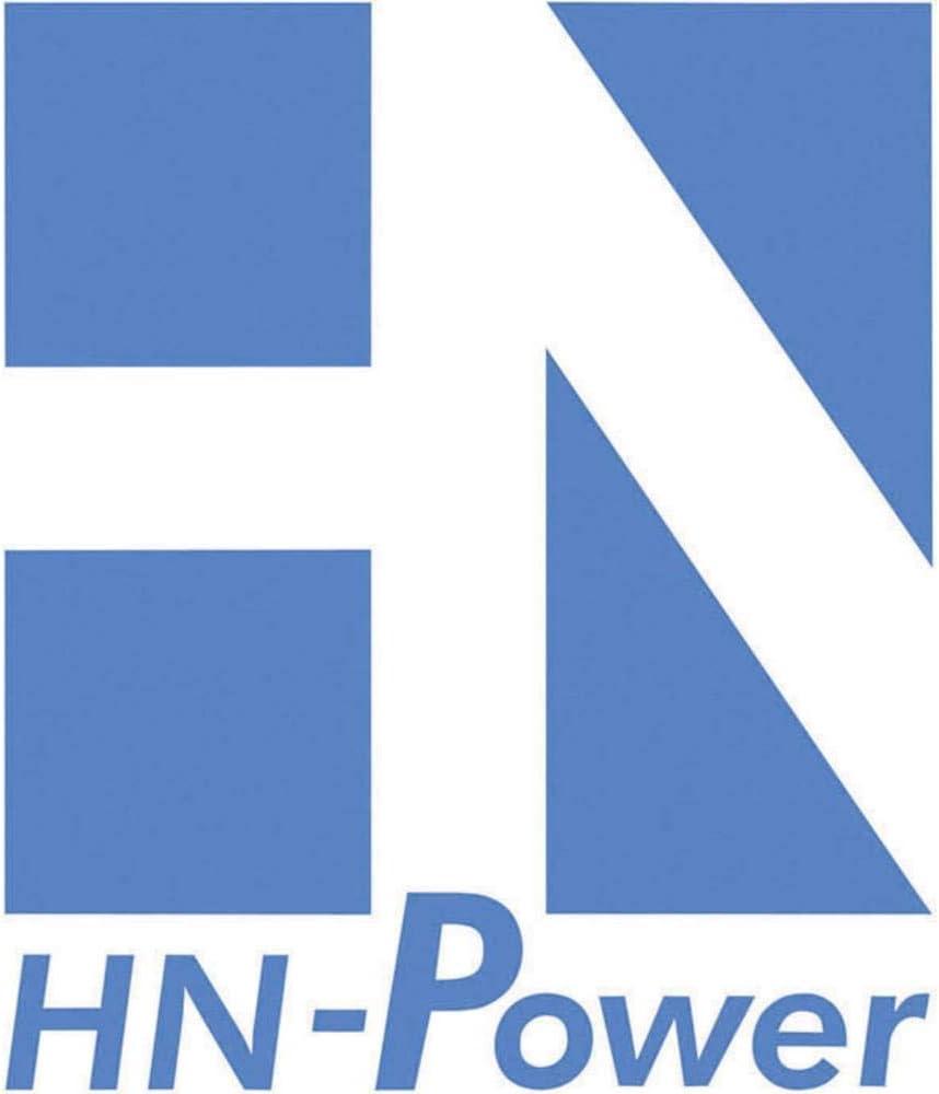 Unbekannt HN Power HNP06-090L6 Steckernetzteil Festspannung 9 V//DC 840 mA 6 W Stabilisiert