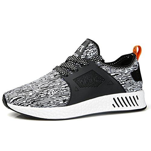 Multisports Garçon Chaussures Running Fitness Gris Course Noir Sneakers Homme Sitaile Sports De Gym Outdoor Rouge Baskets 5Yg7Bx8n