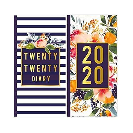 Agenda 2020 delgada con funda, Odessia: Amazon.es: Oficina y ...