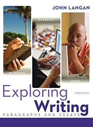 exploring writing paragraphs and essays 3rd edition answer key