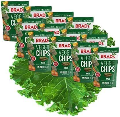 Veggie & Grain Chips: Brad's Crunchy Kale
