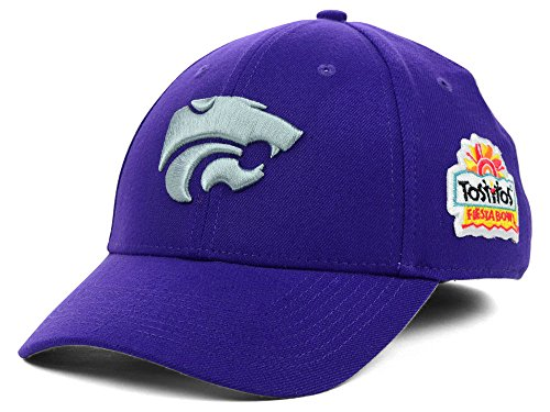Nike Kansas State Wildcats NCAA Legacy91 Swoosh Flex Dri-Fit NKTS Fiesta Bowl Bound Cap -