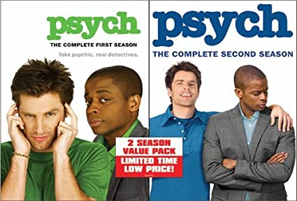 amazon psych complete first second seasons dvd import tvドラマ
