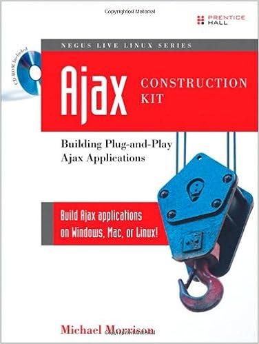 Ajax Construction Kit Building Plug-and-Play Ajax Applications