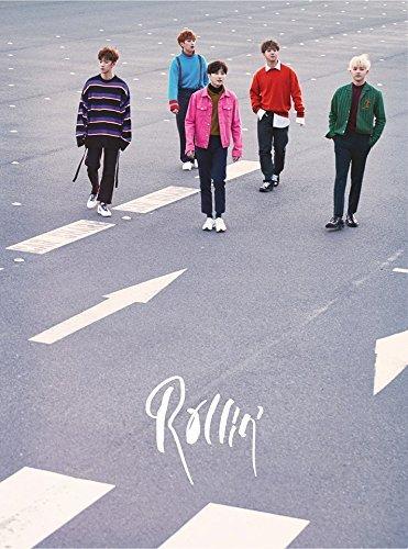 Albums Photo Dvd (B1A4 - Rollin' (7th Mini Album) [GRAY ver.] CD+Photobook+Photocard+Folded Poster)