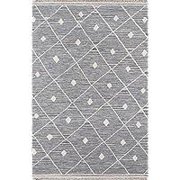 Erin Gates Thompson Collection Appleton Hand Woven Wool Area Rug 2 X 3, Grey