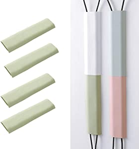 Cable Concealer Wall Adhesive Cable Management System to Hide Cables Green Color Cord Organizer for Wall Mounted TVs and Computers at Home or in The Office
