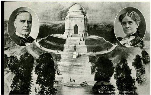 Photo Reprint McKinley Memorial, Canton, Ohio - Memorial Ohio Canton Mckinley