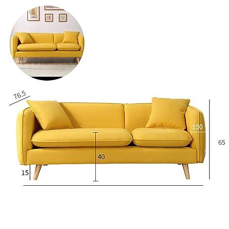 WSN Rinconera sofá,Sofá Cama reclinable de 2 plazas con ...