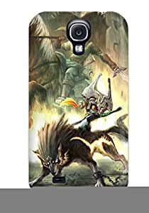 Galaxy S4 The Legend Of Zelda Print High Quality Tpu Gel Frame Case Cover