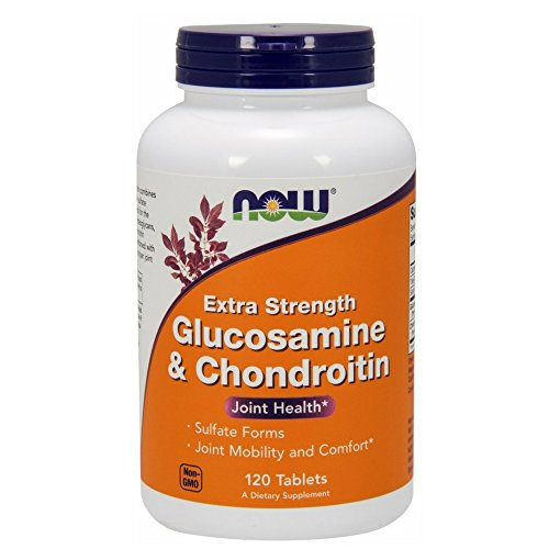 NOW Glucosamine Chondroitin Strength Tablets