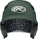 Rawlings Velo Series Alpha Sized Batting Helmet, Matte Dark Green, Large