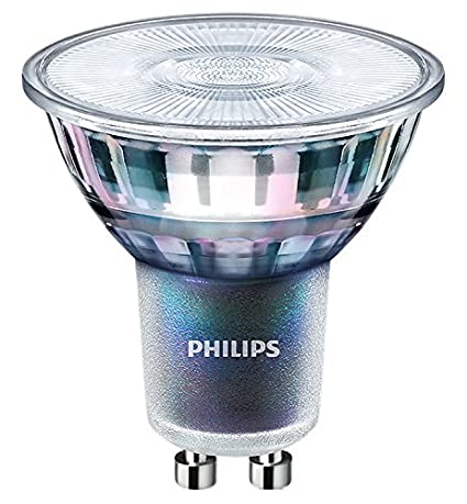 Philips MASTER LED ExpertColor 5.5-50W GU10 930 36D - Lámpara LED (5,5 W, 50 W, GU10, A+, 375 lm, 40000 h)