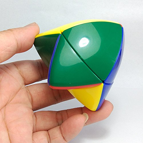 Qiyun 2x2 Skewb Pocket Cube Two Layers Tetrahedron Puzzle Cubes Brain Teaser Magic Cube (Ideas Gift 1)