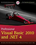 img - for Professional Visual Basic 2010 and .NET 4 book / textbook / text book