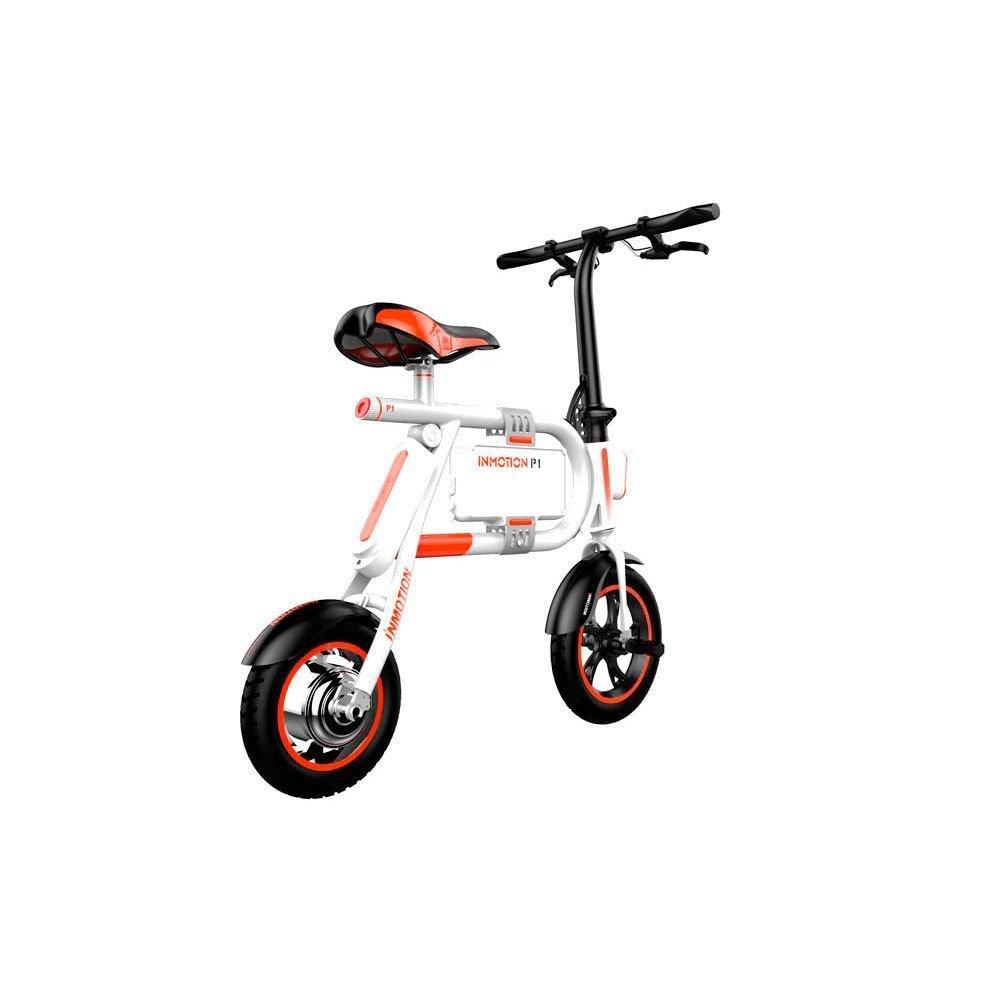 Inmotion E Bike P1 350 W Blanco / Naranja Vehículos eléctricos: Amazon.es: Deportes y aire libre