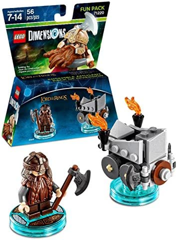 Lord Of The Rings Gimli Fun Pack - LEGO Dimensions by Warner Home Video - Games: Amazon.es: Juguetes y juegos