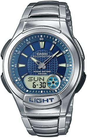 Montre Femme Casio Collection AQ 180WD 2AVES: : Montres  tROT0