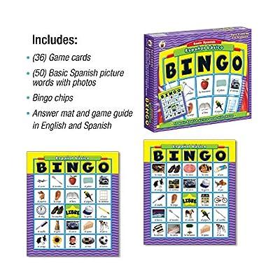 Carson-Dellosa Espanol Basico Basic Spanish: Bingo: Toys & Games