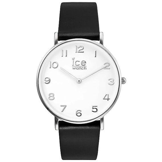 Ice-Watch Reloj Analógico para Mujer de Automático con Correa en Cuero 001502: Amazon.es: Relojes