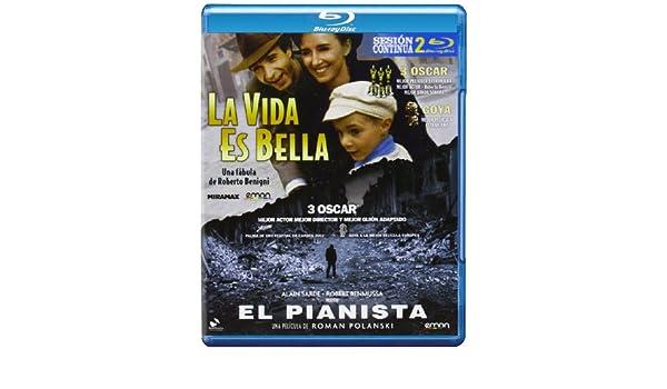Pack: La Vida Es Bella + El Pianista [Blu-ray]: Amazon.es: Roberto ...