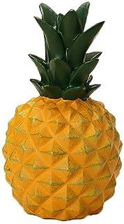 Pot d \ 'Argent Tropical à la Banane - Sculpture en Ananas créatif Articles de Meubles Décoration Tirelire Multifonction pour la décoration de la Maison