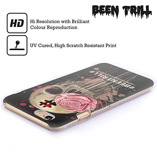 Official Been Trill Splatter Floral And Skulls Hard Back Case for Apple iPhone 6 Plus / 6s Plus