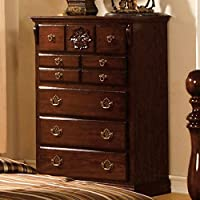 Tuscan Chest Dresser in Dark Pine Finish by Furniture of America